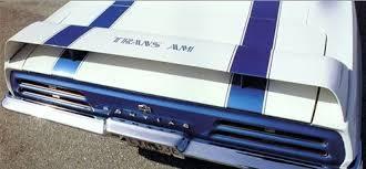 camaro rear spoiler 1969 camaro rear spoiler firebird trans am style