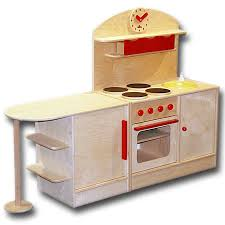 puppenküche holz spielkueche aus holz fuer kinder mcc wunderschoenes design