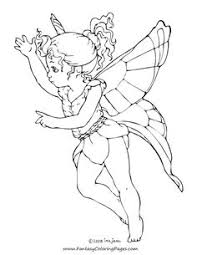 coloring pages adults print colour fairy colouring