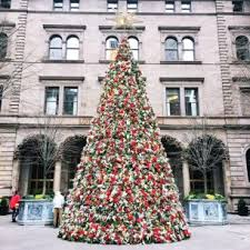 12 tree decoration ideas in new york 2017 onechitecture