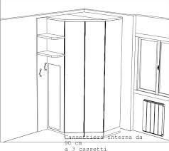 armadio angolare misure cabina armadio angolare prezzi idee di design per la casa