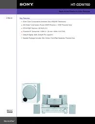 home theater in a box download free pdf for sony ht ddw760 home theater manual
