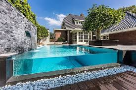Backyards With Pools Exterior Pools Nice Backyard Design Ideas With Beautiful Small
