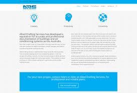 allied drafting services logo u0026 web u2013 melissa sugden