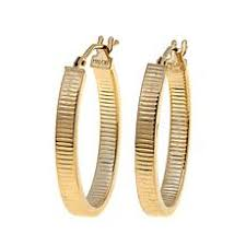 14k gold hoop earrings gold hoop earrings 10k 14k gold hoop earrings hsn
