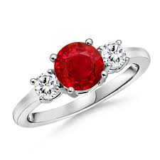 ruby and engagement rings ruby engagement rings angara