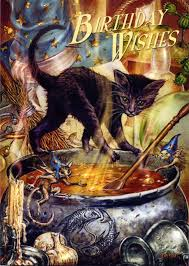 cauldron capers birthday card for you at gryphon u0027s moon