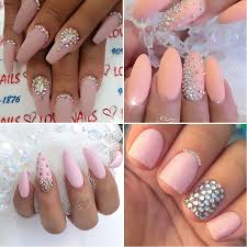 do you like rhinestones on your nails what is the option