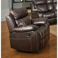 coaster chenille glider and ottoman in chocolate coaster recliner company chestnut glider with pillow arms swivel w