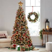 frosted christmas tree member s 7 5 alaskan frosted spruce christmas tree sam s club