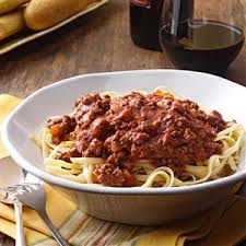 wedding gift spaghetti sauce savory spaghetti sauce recipe taste of home