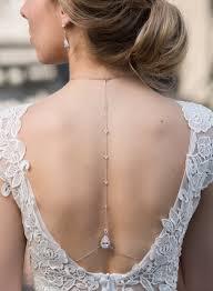 wedding backdrop accessories margaux tear drop back drop necklace necklace wedding