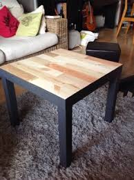 diy farmhouse coffee table ikea ikea lack hack add a weathered industrial look to your
