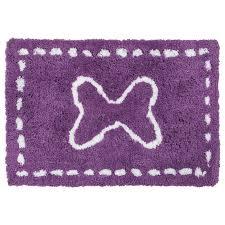 tappeto in microfibra tappeto microfibra 90 cm bimbo viola tappeto per da
