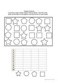 17 free esl shapes colors worksheets