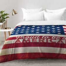 American Duvet Covers East Urban Home Proud To Be An American Flag Comforter Set