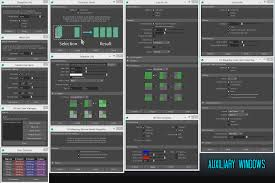 french script l shade nightshade uv editor for maya free texturing scripts plugins