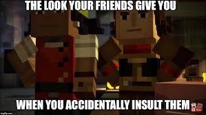 Nerds Meme - image redstone nerds meme jpeg minecraft story mode wiki