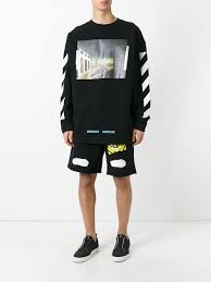 off white belt grailed off white printed sweatshirt black