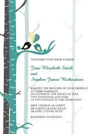 bird wedding invitations teal birds wedding invitation wedding invitation templates