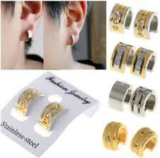 mens huggie earrings orejeras para hombre muestras orejeras para hombre proveedores de