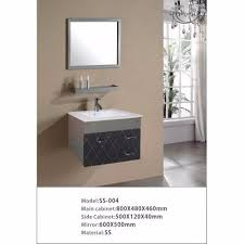 Stainless Steel Bathroom Vanity Cabinet Endearing Stainless Steel Bathroom Cabinet Supplier In Delhi