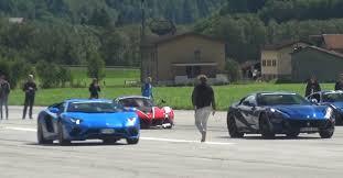 lamborghini aventador race 812 superfast vs lamborghini aventador s drag race is a
