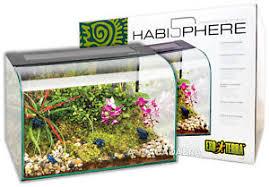 exo terra habisphere reptile terrarium stylish amphibian