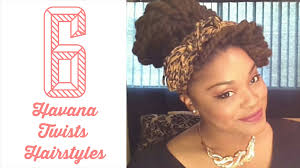 havana twist hairstyles 6 easy havana twists marley twists hairstyles natural
