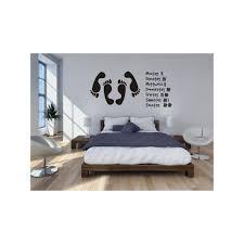 bilder fürs schlafzimmer wandtattoos für schlafzimmer bei de beddinginn wandtattoo