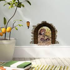 Home Design 3d Wall Height by Online Get Cheap Vinyl 3d Wallpaper Hole In Wall Aliexpress Com