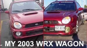 My 2003 Subaru Impreza Wrx Wagon Slideshow Youtube