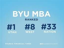 My Map Byu Byu Marriott Of Business News Byu Mba Jumps Up