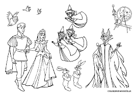 sleeping beauty fairies coloring pages i5 gif