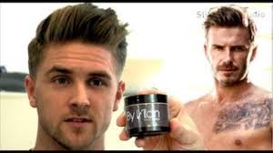 what hair producr does beckham use david beckham h m 2013 mens hairstyle how to style inspiration