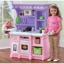 step2 little bakers kitchen with 30 piece accessory set walmart com