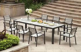8 Piece Patio Dining Set Furniture Modern Patio Dining Sets Belham Living Bella All