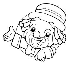 colorear payaso buscar con google proyecto circo pinterest