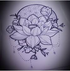 Simple Lotus Flower Drawing - best 25 lotus drawing ideas on pinterest lotus mandala simple