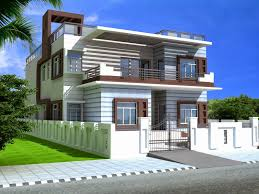 Design Home Map Online 3d House Plan With The Implementation Of 3d Max Modern House Designs