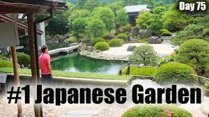 japan u0027s most beautiful garden day 75 shimane youtube