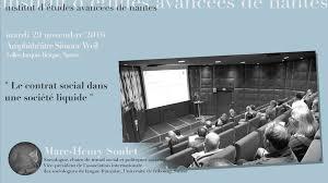 nature et d ouverte si e social conférence de marc henry soulet le contrat social dans une