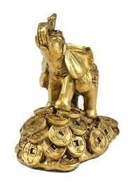 1 feng shui 3 u0026 034 money elephant figurine wealth lucky figurine