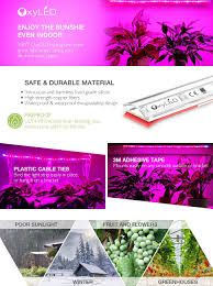 oxyled m 01 flexible led plant strip lights grow lights 24w
