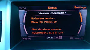 mmi 3g basic navigation 5 24 2 and firmware updates currently