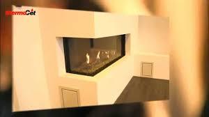 ενεργειακό τζάκι thermocet trimline 100 hoek youtube