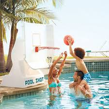 Frontgate Outdoor Shower - outdoor games swimming pool games pool basketball frontgate