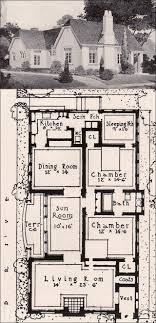 ideal homes floor plans early english revival cottage 1916 ideal homes in garden