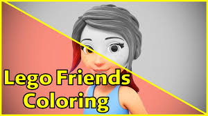 friends lego coloring pages lego friends coloring pages mia lego friends coloring fun