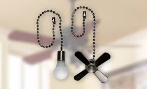 ceiling fan pull chain set ceiling fan chains pull chain extension chain long light